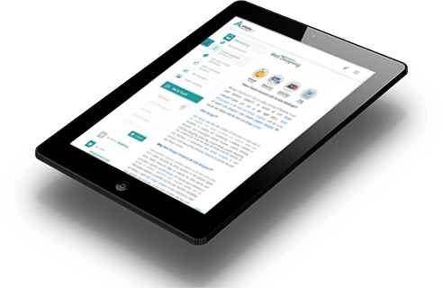 responsive tablet view